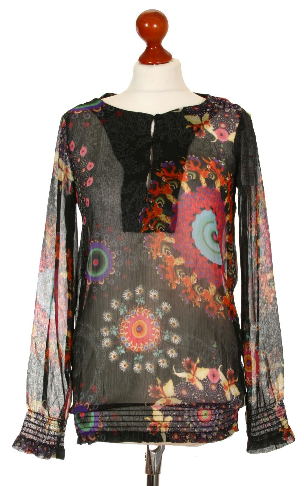 6f3b824cc7e7 Outlet ruha | Női Blúz hosszú, Desigual, Méret: S, Outlet | http ...