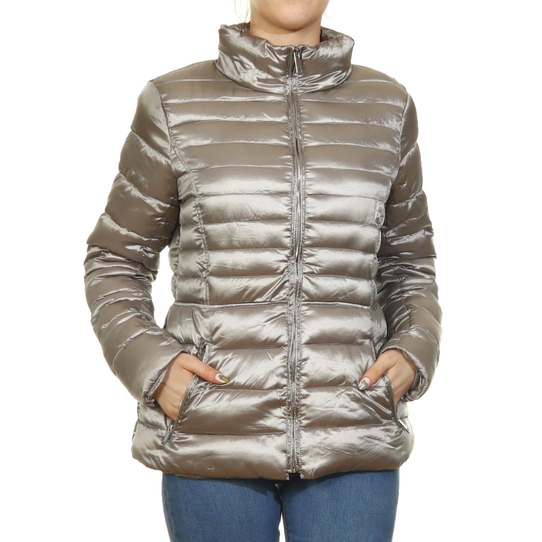 Sötétkék átmeneti steppelt kabát Női ruha webáruház, női r