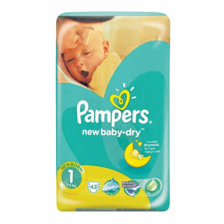 Pelenka, Pampers 43db Newborn S1