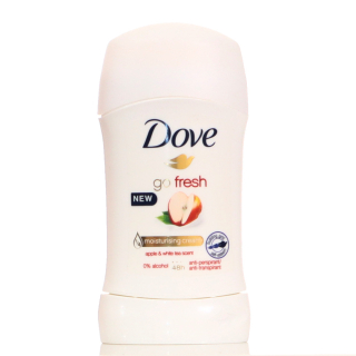 Stift, Dove 40ml go fresh Apple White Tea